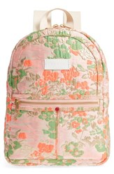 State Bags Mini Kane Brocade Backpack Pink Poppy Brocade