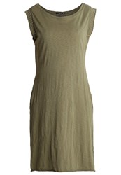 Replay Jersey Dress Olive