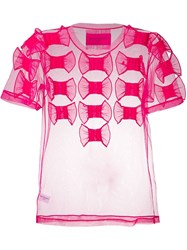 Viktor And Rolf Too Many Bows T Shirt Pink