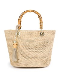 Heidi Klein Savannah Bay Super Mini Tote Bag Neutral