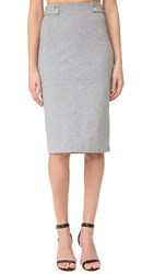 Finders Keepers Hans Skirt Light Grey Marl