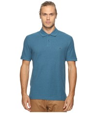 Original Penguin Daddy O Polo Corsair Men's Short Sleeve Pullover Blue