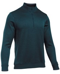 Under Armour Men's Quarter Zip Storm Fleece Sweater Nova Teal