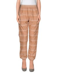Obey Trousers Casual Trousers Women Ochre