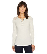 Ariat Dunton Henley Heather Gray Women's Clothing