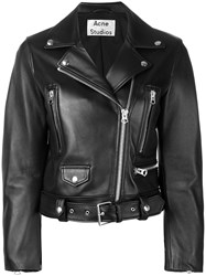 Acne Studios Mock Motorcycle Jacket Black