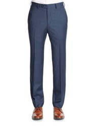 Tallia Orange Wool Dress Pants Navy