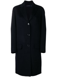 Sofie D'hoore Classic Single Breasted Coat Blue