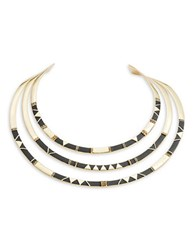 House Of Harlow Nelli Statement Necklace Black