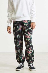 Urban Outfitters Uo Xander Patterned Pant Black Multi