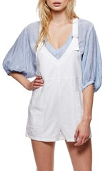 Free People Women's Cotton And Linen Romper
