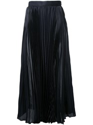 H Beauty And Youth High Rise Pleated Midi Skirt Women Polyester S Black
