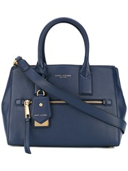 Marc Jacobs Tote Bag Women Leather One Size Blue