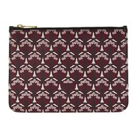 Liberty London Iphis Small Pouch Oxblood