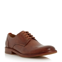Bertie Rusty Lace Up Formal Oxford Shoes Tan