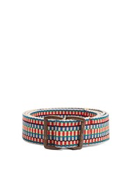 Inis Meain Crios Woven Cotton Belt Multi