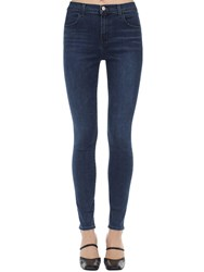 J Brand Maria High Skinny Stretch Denim Jeans Blue