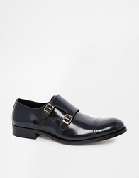 Selected Homme Monk Strap Shoes Blue