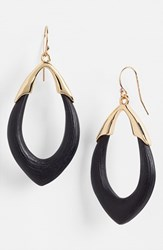 Women's Alexis Bittar 'Lucite Neo Bohemian' Open Drop Earrings Black