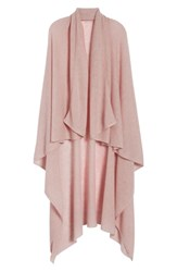 Halogen Cashmere Scarf Pink Rosecloud Heather