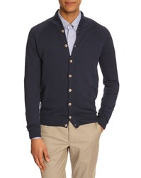 Menlook Label Hugo Navy Blue Cardigan