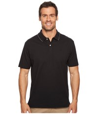 Dockers Solid Signature Polo Black Clothing