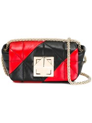 Sonia Rykiel Quilted Crossbody Bag Black