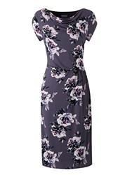 Grace Made In Britain Floral Dress Multi Coloured Multi Coloured