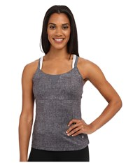 Spyder Lasyr Tank Top Image Grey Washed Print Cirrus Punch Women's Sleeveless Gray