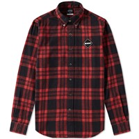 Fc Real Bristol F.C. X Coca Cola Tour Flannel Shirt Red