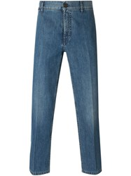 Marc Jacobs Cropped Jeans Blue