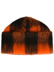 Minimarket 'Chola' Beanie Yellow And Orange