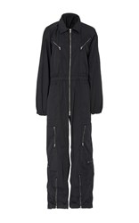 Nili Lotan Maverick Flight Jumpsuit Navy