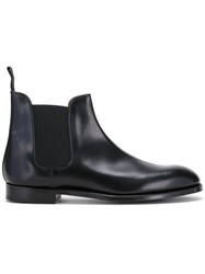 Crockett Jones And Chelsea Boots Black