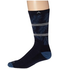 Wigwam Makua Valley Pro Navy Men's Crew Cut Socks Shoes