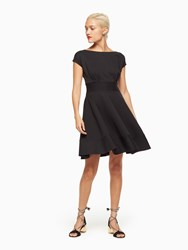 Kate Spade Ponte Fiorella Dress Black