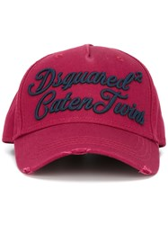 Dsquared2 Caten Twins Cursive Baseball Cap