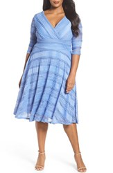 Sangria Plus Size Women's Fit And Flare Dress