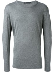 T By Alexander Wang Longsleeved T Shirt Grey