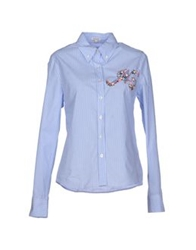 Manoush Shirts Sky Blue