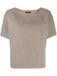 Theory Loose Fit Crew Neck Top 60