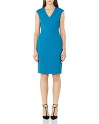 Reiss Jamie Sheath Dress Peacock Blue
