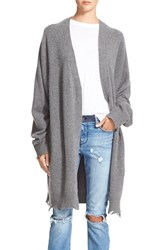 Women's Rta 'Serge' Distressed Cashmere Cardigan