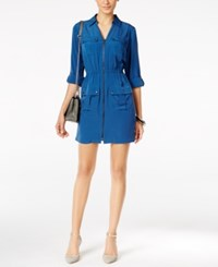Alfani Utility Shirtdress Only At Macy's Global Blue