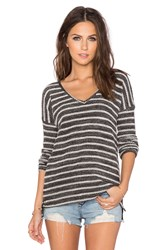 Paige Martine Top Black And White