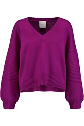Mason By Michelle Mason Wool And Cashmere Blend Sweater