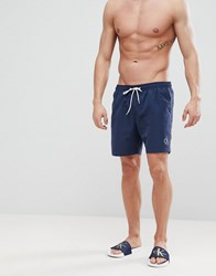Calvin Klein Nyc Medium Swim Shorts Navy