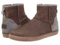 Ugg Magellan Metal Leather Men's Pull On Boots Gray