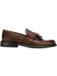 Canali Tassel Loafers Brown
