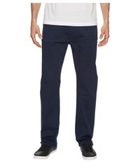 Buffalo David Bitton Six X Straight Fit Jeans Torpedo Fabric In Deep Navy Deep Navy